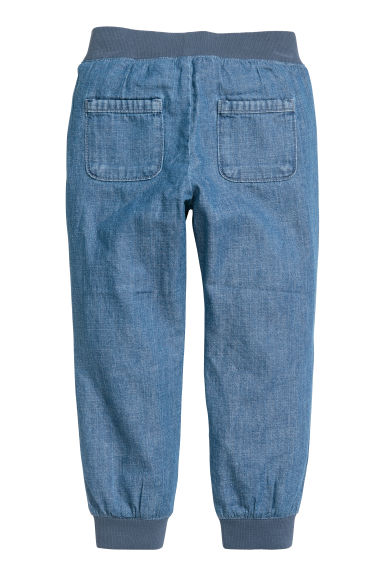 Pantaloni pull-on - Blu/chambray - BAMBINO | H&M IT