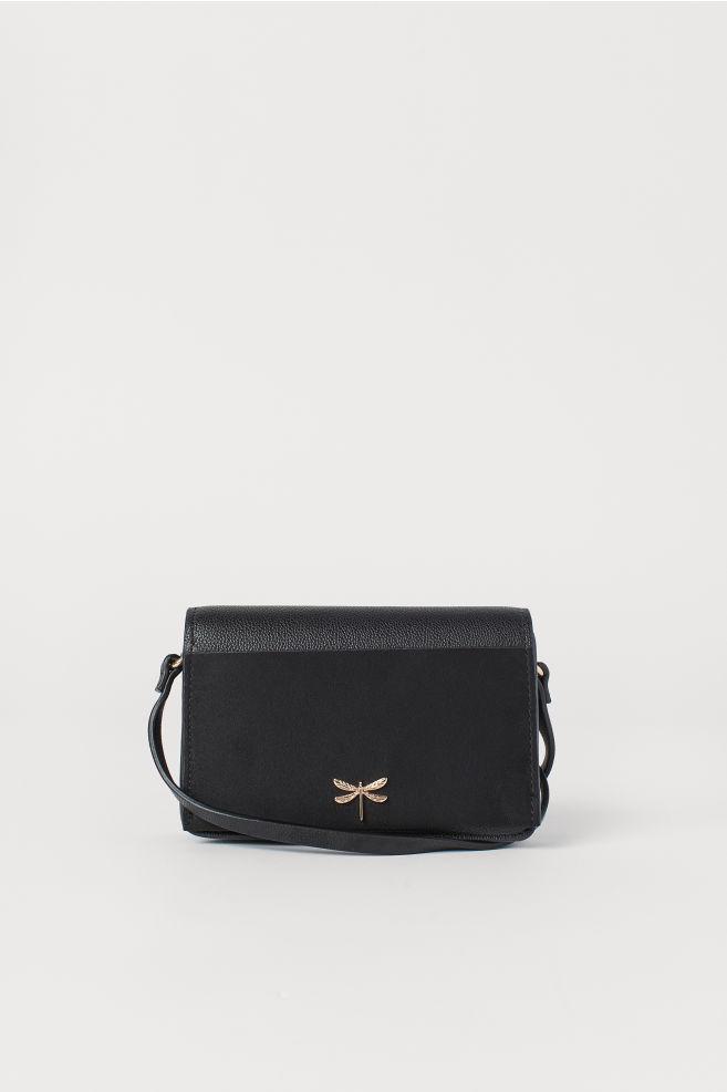 849b9937c9 Petit sac bandoulière - Noir - FEMME | H&M ...