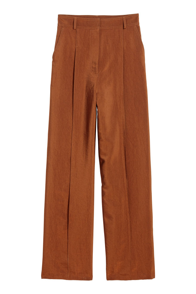 5d12bd19a5 Wide trousers - Rust - Ladies