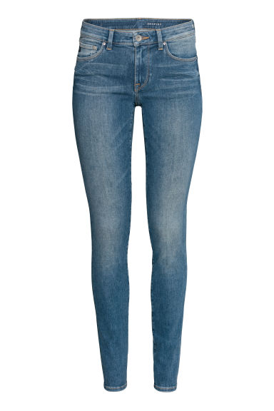 Shaping Skinny Low Jeans - Denimblå - DAM | H&M SE
