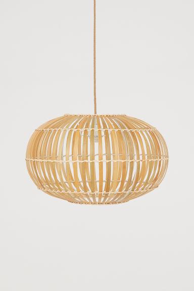 half off 6039b 79eec Bamboo pendant light