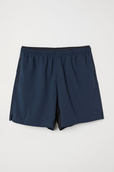 Running shorts - Steel blue - Men | H&M CN
