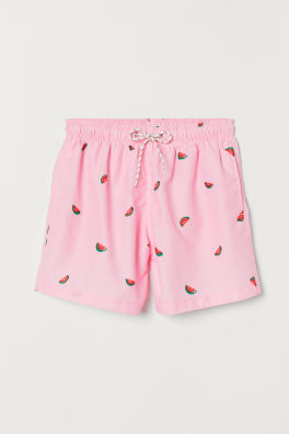 dcff3f99b6e Printed Swim Shorts