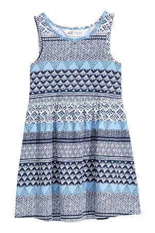 Sleeveless Jersey Dress