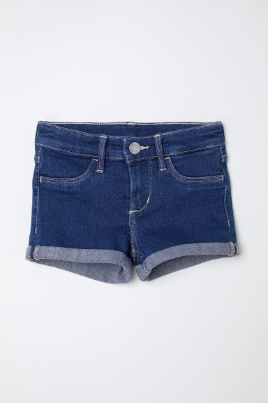 Shorts in denim - Blu denim scuro -  | H&M IT