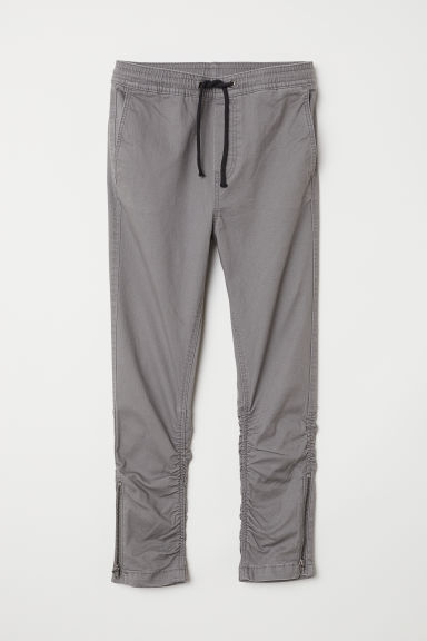 Pull-on trousers - Grey - Kids | H&M