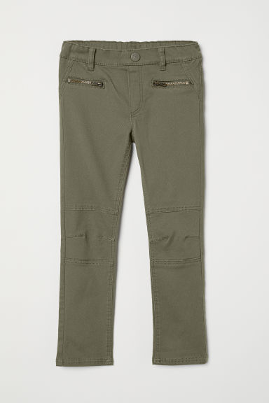 Treggings - Khaki green - Kids | H&M CN