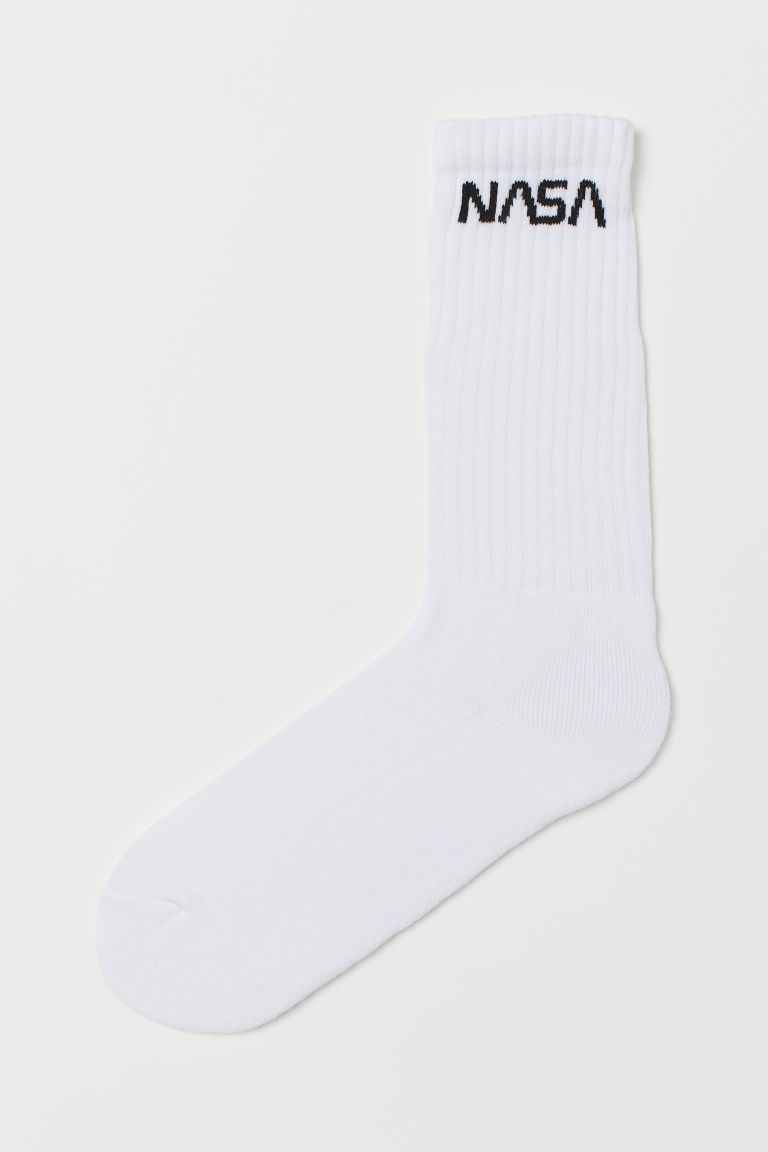 Socks - White/NASA - Ladies | H&M