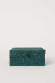 Suede Jewelry Box