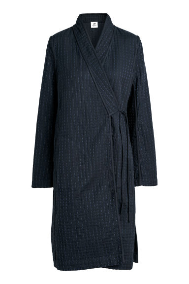 Long kimono jacket - Dark blue - Ladies | H&M