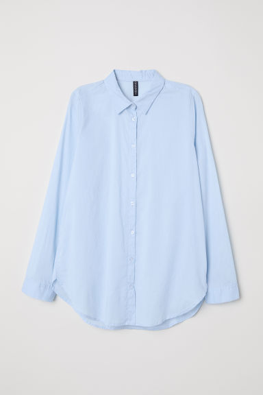 Cotton shirt - Light blue -  | H&M GB
