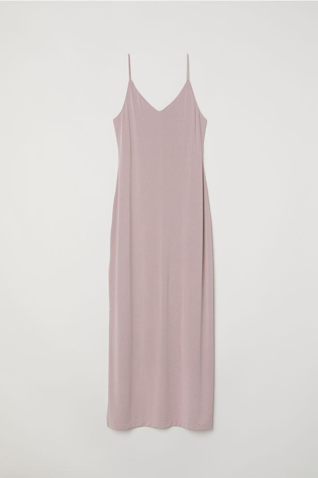 Maxi Jurk Basic.Modal Blend Maxi Dress Vintage Pink Ladies H M Us