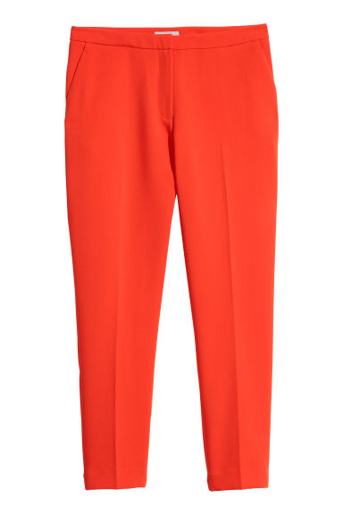 Tailored trousers - Orange - Ladies | H&M IE