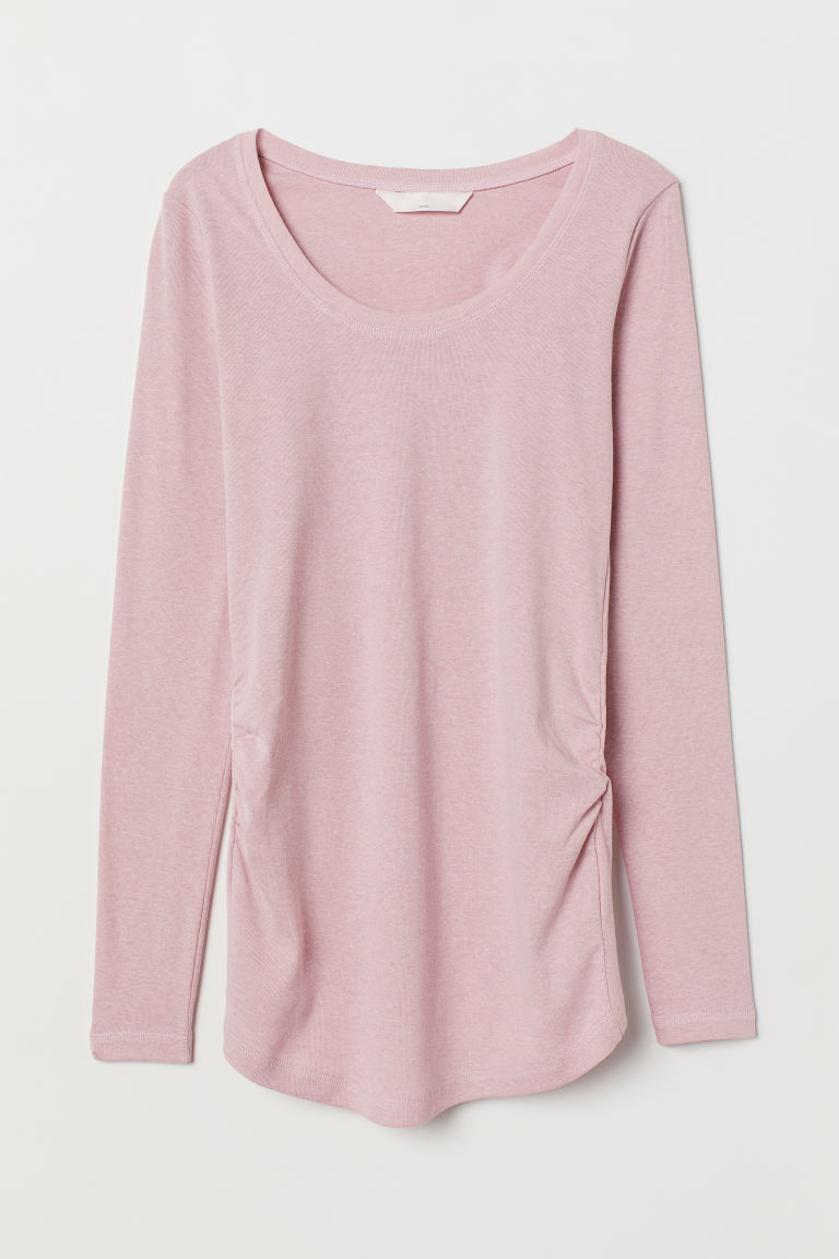 MAMA Top in jersey - Rosa nebbia - DONNA | H&M IT