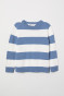 Blue/Grey striped