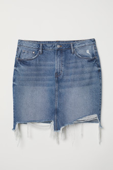 H&M+ Gonna in denimModal
