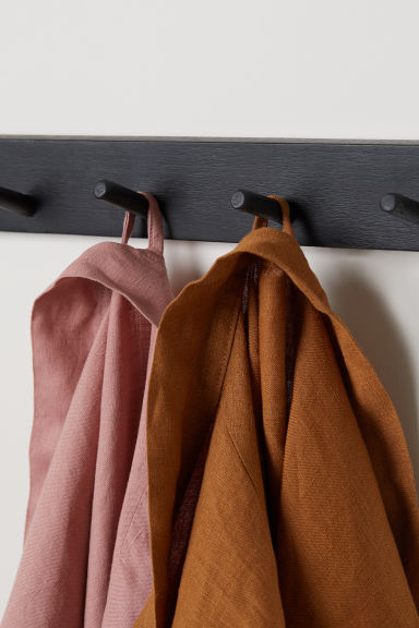 Wooden hanger - Black - Home All | H&M GB