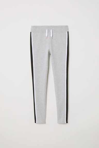 Pantalon jogger Slim Fit - Gris chiné - ENFANT | H&M CH