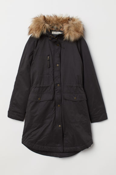 Parka imbottito - Nero/washed - DONNA | H&M IT