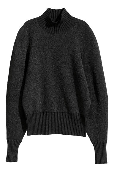 Pullover a collo alto - Nero -  | H&M IT