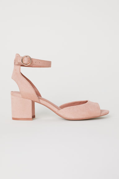 Sandals - Powder pink - Ladies | H&M