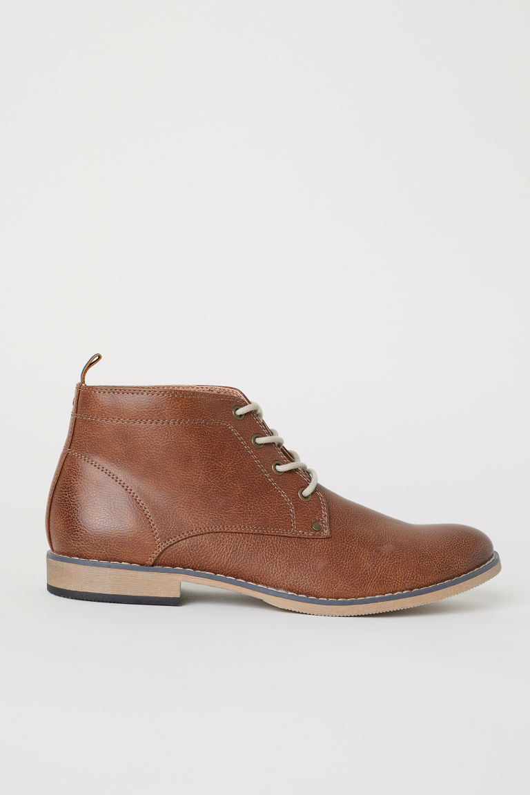 Desert Boots - Tawny brown -  | H&M US