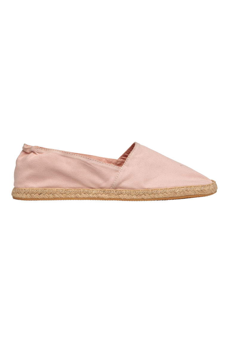 Espadrilles - Powder pink -  | H&M US