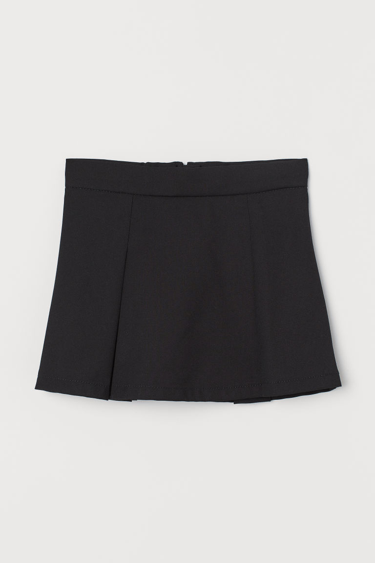 Pleated skirt - Black - Kids | H&M GB