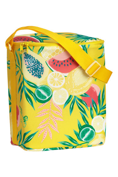 Bolsa nevera estampada - Amarillo/Fruta - HOME | H&M ES