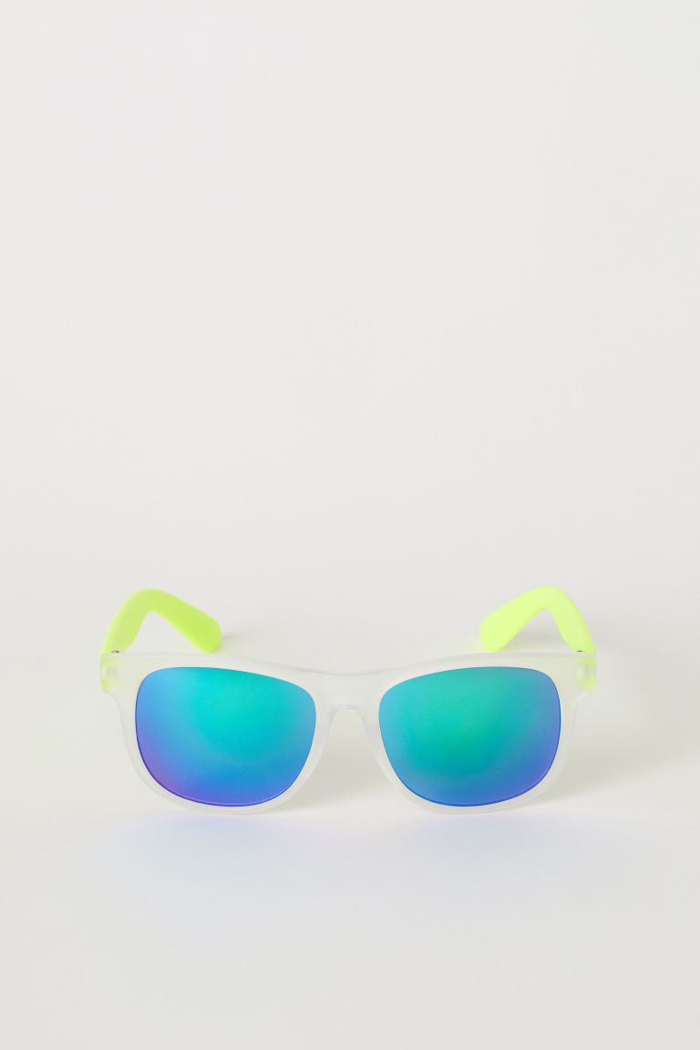 Sunglasses - Neon yellow - Kids | H&M GB
