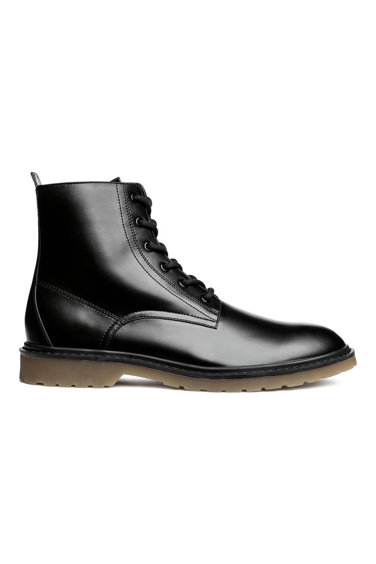Chunky-soled boots - Black - Men | H&M