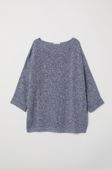 Purl-knit jumper