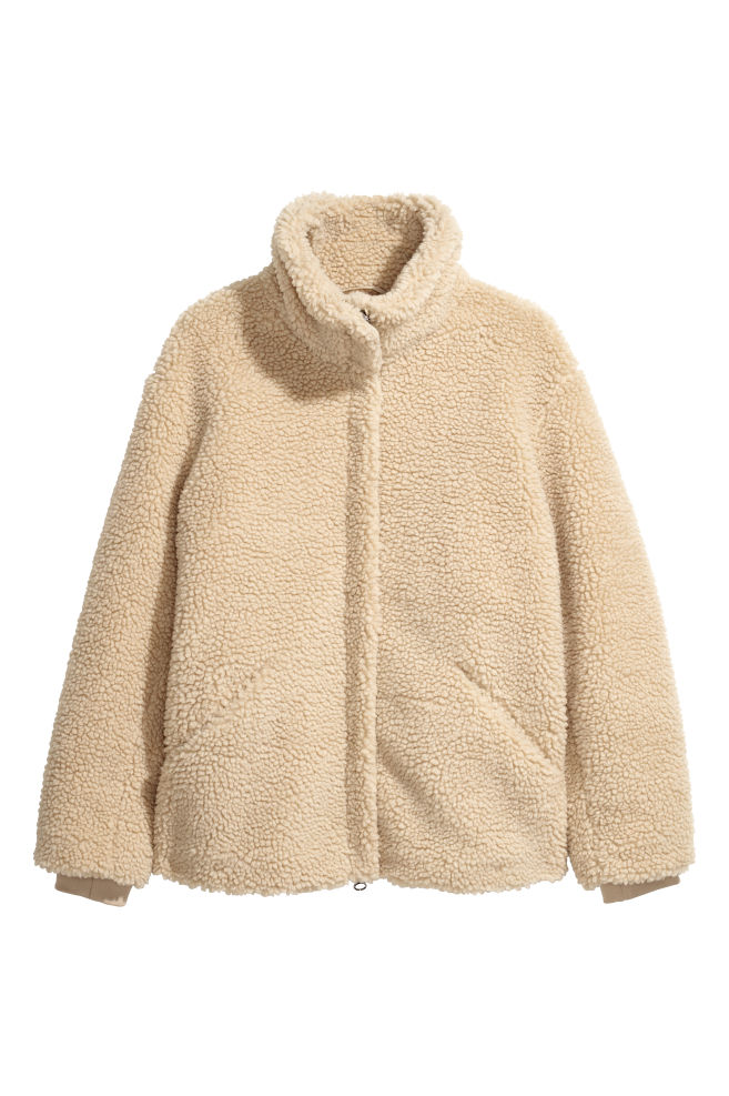 3d68c17576 Jacke aus Teddyfleece - Beige - Ladies | H&M DE