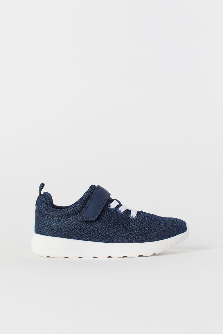 Mesh trainers - Dark blue - Kids | H&M