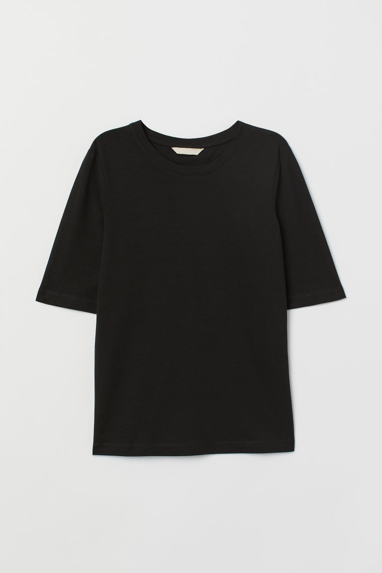 T-shirt - Nero - DONNA | H&M IT