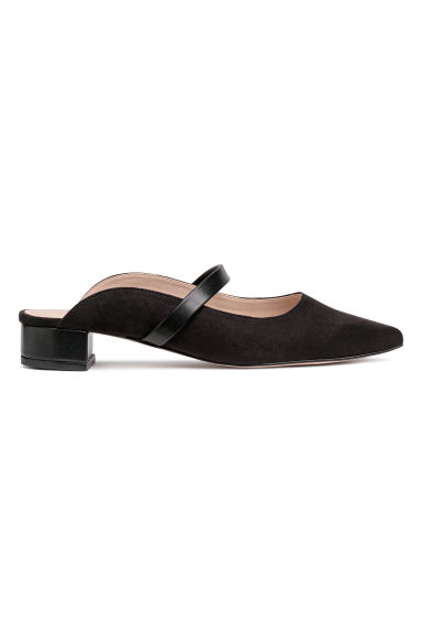 Ballet pump mules - Black - Ladies | H&M