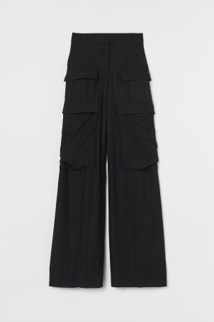 Oversized utility trousers