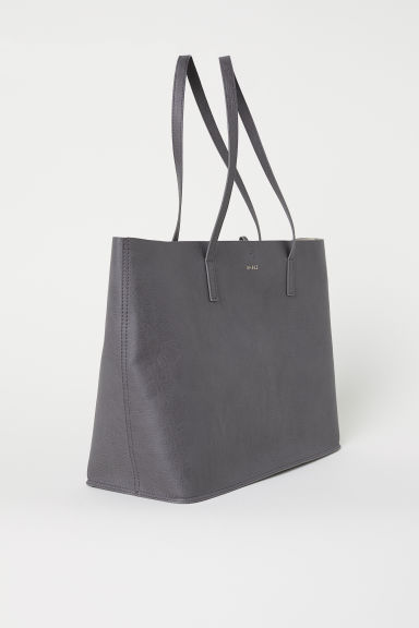 Reversible shopper - Grey - Ladies | H&M