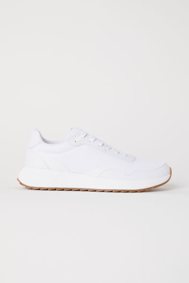Sneakers van mesh - Wit - HEREN | H&M BE