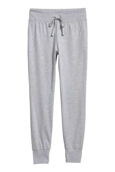 Joggers - Light grey marl - Ladies | H&M GB