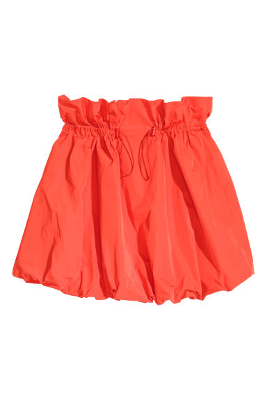 Balloon skirt - Red - Ladies | H&M GB