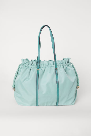Weekendbag aus Nylon - Helltürkis - Ladies | H&M AT