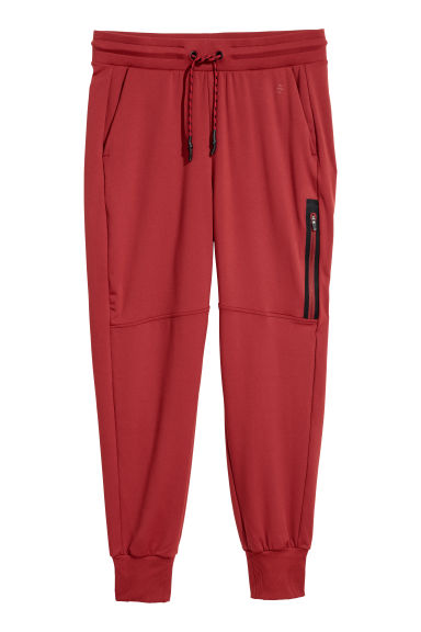 Sports trousers - Rust red - Ladies | H&M CN