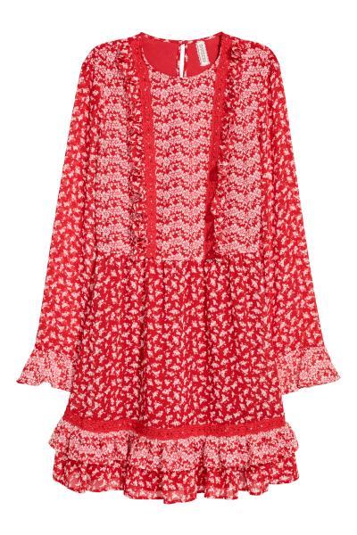 H&M - Chiffon dress - 2