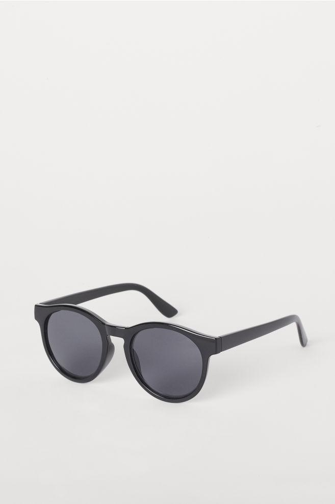 fc1b1a304cca4 Round sunglasses - Black - Ladies