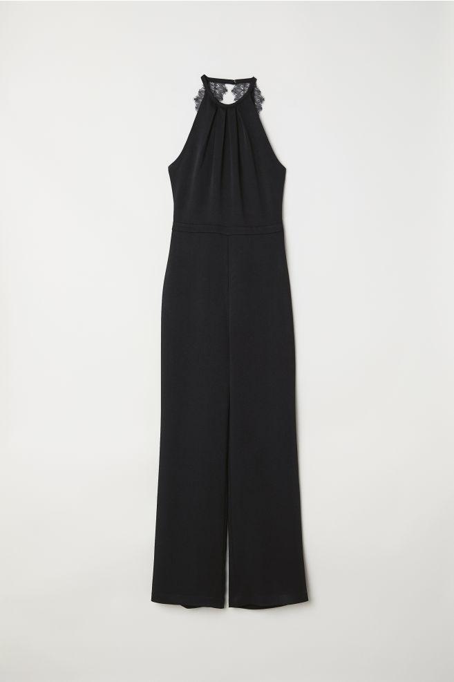 bf2c11f0d20 Sleeveless jumpsuit - Black - Ladies