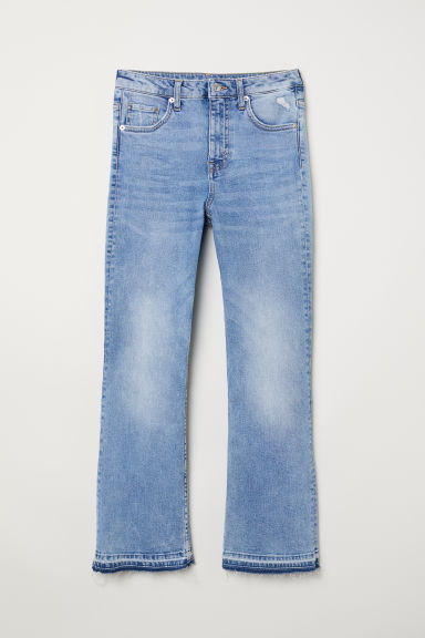Kickflare High Ankle Jeans - Light denim blue -  | H&M