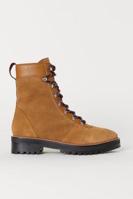 Vysoké semišové boty 4744daefc6