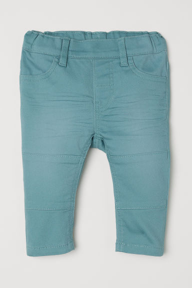 Twill leggings - Turquoise - Kids | H&M