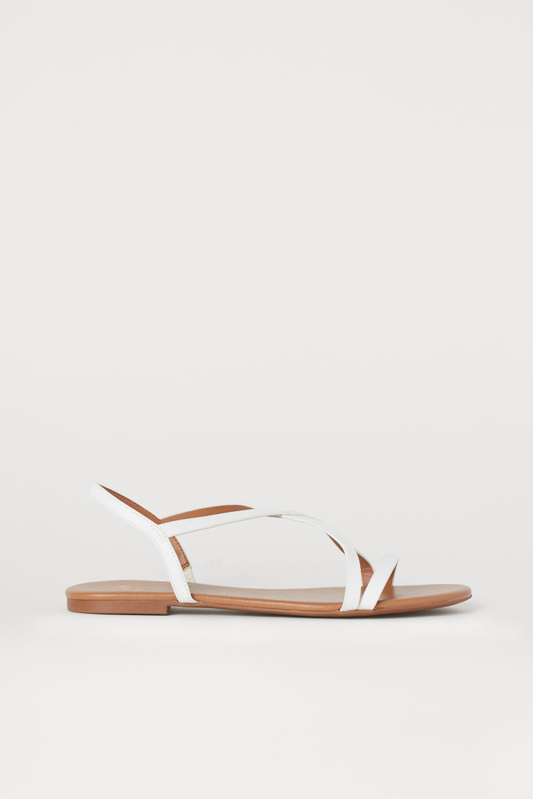 Sandals - White - Ladies | H&M US